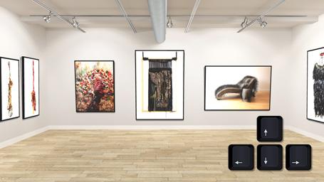 Keys Virtual Gallery 3D